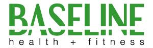 Baseline Fitness Company logo Tweed Heads